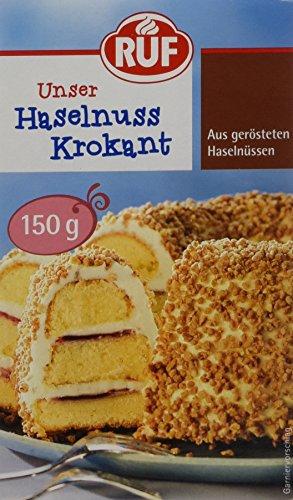 RUF Haselnuss Krokant, 11er Pack (11 x 150 g)