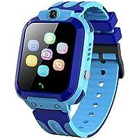Smartwatch per Bambini, IP68 Impermeabile Orologio Smart Phone LBS Anti-perso con Chat Vocale Sveglia SOS Gioco…