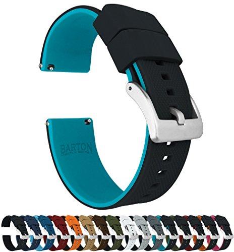 Barton Elite - Correa de Reloj de Silicona - liberación rápida - Elegir Color - 18 mm, 20 mm y 22 mm Correas de Reloj