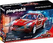 Playmobil Porsche 70277 Porsche Macan S brandweer met licht- en geluidseffecten, vanaf 4 jaar