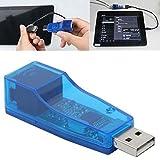 #4: Technotech USB 2.0 to fast Ethernet 10/100 RJ45 Network LAN Adapter Card (Blue)