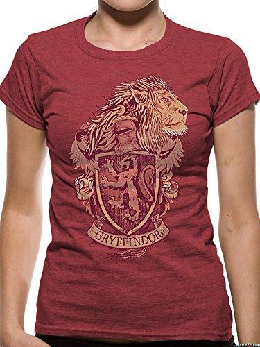 Official Licensed Merchandise Harry Potter Gryffindor Unisex T-Shirt Tee
