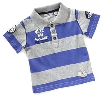MEXX Baby - Jungen Hemd K1RE9224, Gr. 80, Blau (438)