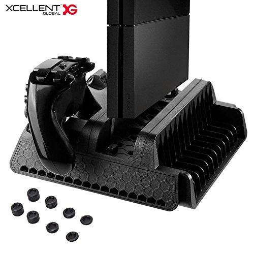 M-serie-benutzerhandbuch (Xcellent Global Vertikaler Ständer für Sony PS4 / Slim / Pro mit Kühlventilatoren und Dual Controller Ladestation und Spiele Organizer HG245)