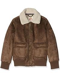 O&A Boy's Shearling Bomber Jacket