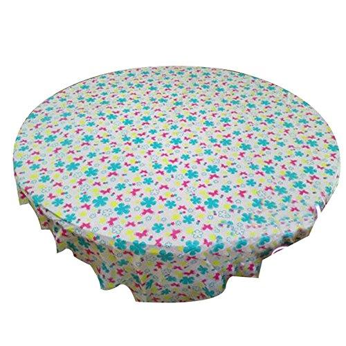 ststoff Tischhussen Blume gedruckt Tischdecken 10er-Pack Einweg-Tischdecken (Billige Sackleinen-stoff)
