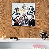 BTS & BlackPink MDF Wall Art 30x30 Centimeter HOOLIGANZZ
