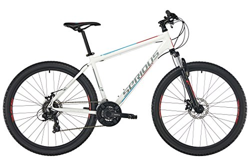"SERIOUS Rockville 27,5"" Disc White Rahmenhöhe 42cm 2019 MTB Hardtail"