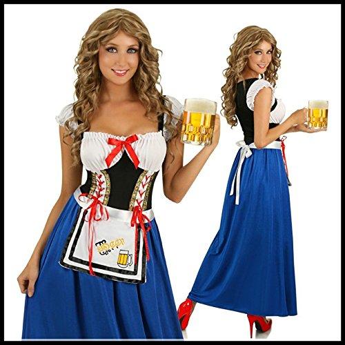 Gorgeous Das neue Europa , den USA und Deutschland BUZZ Kleidung Oktoberfest bayerischen Kostüm Mutterlauge Bier traditionellen Kleid Kostüm , xl (Traditionelle Kostüme Aus Deutschland)