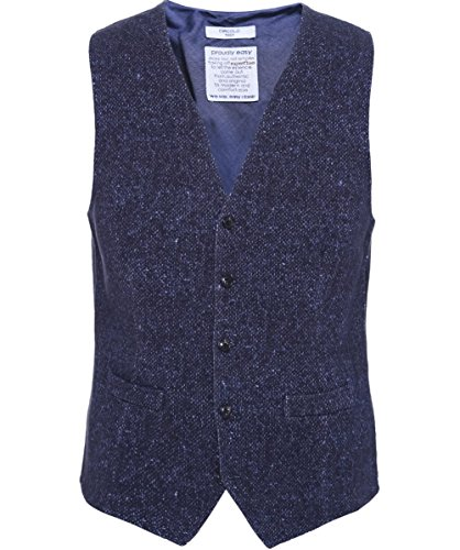 Circolo 1901 Gilet in cotone Tweed Blu 52