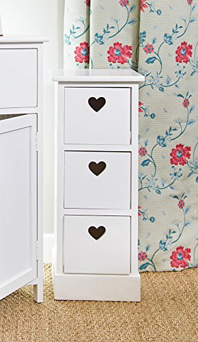 new-shabby-chic-white-wood-frame-storage-unit-drawers-with-heart-cut-out-detail
