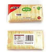 Palillo de dientes de bambú de Tookie, paquete de 900 piezas, la mejor opción