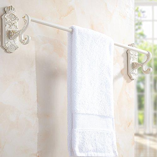tenture-murale-barre-de-serviette-peinture-blanche-de-style-europeen-pole-unique-seche-serviettes