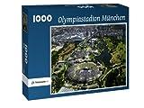 Olympiastadion München - Puzzle 1000 Teile mit Bild von oben
