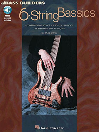 Bass Builders: 6 String Bass (Book & CD)