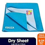 BeyBee- Dry Sheet for Adults and Elderly Patients Combo Pack of 2 Firoza