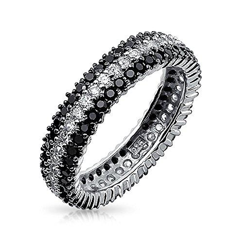 bling-jewelry-925-sterling-silver-round-clair-et-noir-onyx-simule-cz-bague-eternity