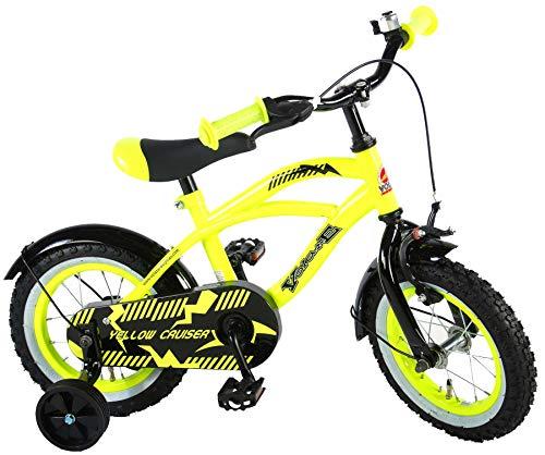 E&L Cycles Kinderfahrrad Volare Yellow Cruiser 12 Zoll mit Rücktrittbremse