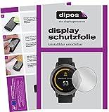 dipos I 6X Schutzfolie klar passend für Garmin vivoactive 3 Folie Bildschirmschutzfolie