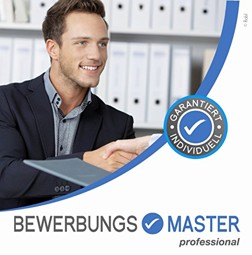 BEWERBUNGSMASTER Professional 2020  CD (Windows) // Erfolgreiche Bewerbung schreiben - Lebenslauf, Anschreiben, Profil, Deckblatt, Mailbewerbung -