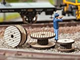 Cable Reels (3 Different) Ho Scale