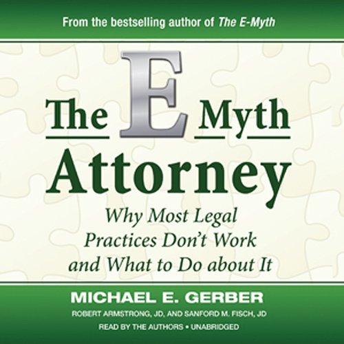 The E-Myth Attorney  Audiolibri