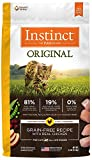 Nature's Variety Instinct Original Grain Free Recipe with Real Chicken Natural Dry Cat Food by, 2.2 lb. Bag
