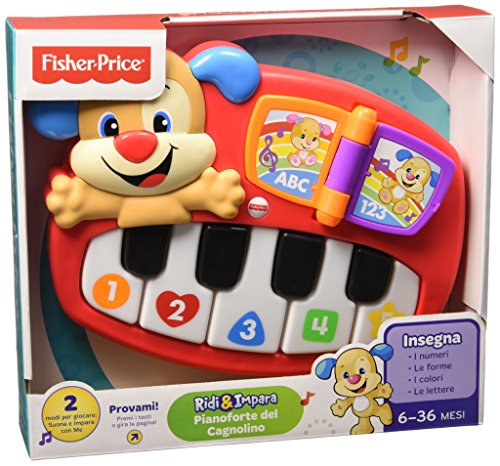Newsbenessere.com 51OJ5pecy-L Fisher Price Infant DLD22 - Pianoforte del Cagnolino, Multicolore