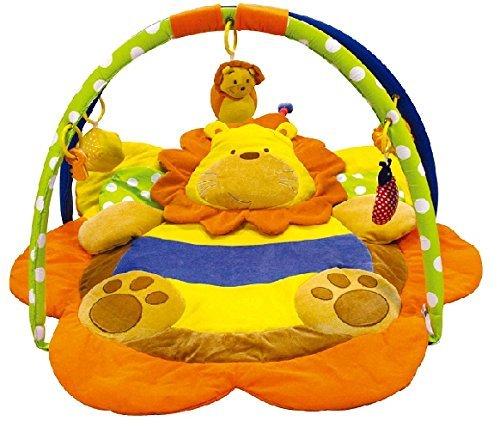 Alfombras de juego y gimnasio para bebés, mantas de actividades león. Regalo bebé