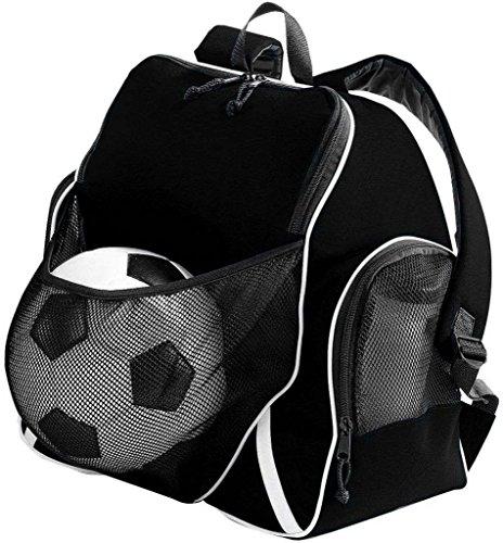 Augusta Sportswear sfera di 3colori zaino, UOMO, Nero/nero/bianco Nero/nero/bianco