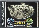 Disney Star Wars Force Attax der Force weckt Spiegel Folie Millennium Falcon Trading Card (192)