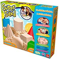 Super Sand Classic Arena Mágica Color natural 32.3 x 26.9 x 6.3 Goliath 83216