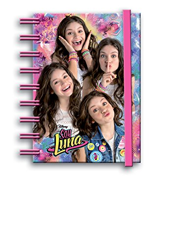 Soy Luna - Cuaderno notas con goma (Montichelvo 53486)