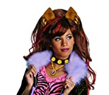 Générique - Pe939 - Perruque Licence Luxe Clawdeen Wolf Monster High - Taille Unique
