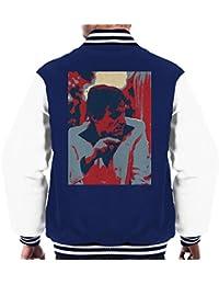 Hugh Hefner Playboy King 1981 Men's Varsity Jacket