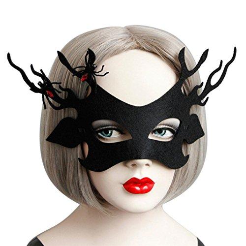 HCFKJ 2017 Mode Halloween Elegantes Augengesicht Maske Ball Karneval Fancy Party (D)
