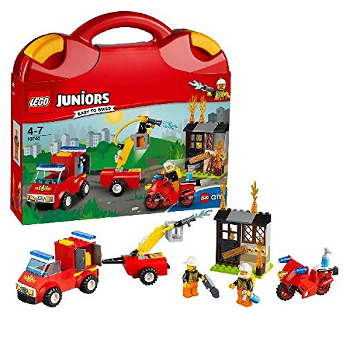 LEGO 10740 Fire Patrol Suitcase Building Set Best Price and Cheapest