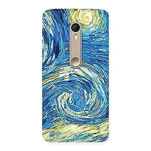 Modern Art Back Case Cover for Motorola Moto X Style
