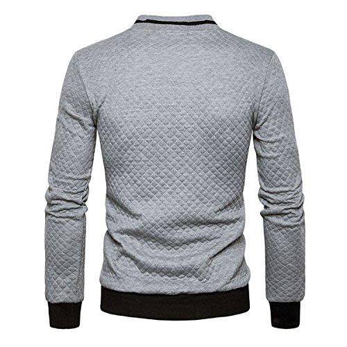 YOUTHUP Herren Sweatshirt Grau