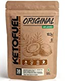 KETOFUEL MCT Keto Oil Powder with Coconut Oil for Coffee & Shakes 500g