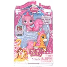 Disney Princess, Palace Pets, Mini Pets, Aurora's Beauty and Belle's Petit, 2-Pack by Blip Toys