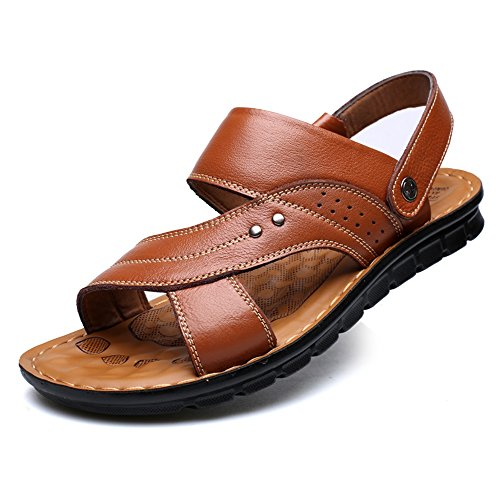 Öl-freie Massage (Sandals Huo Komfortable Männer im Freien Mode Casual Hausschuhe Multifunktions Weich Unten Massage Strand Schuhe Komfortabel absorbieren Schweiß)