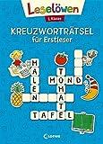 Leselöwen Kreuzworträtsel für Erstleser. 1. Klasse (Blau): Grün