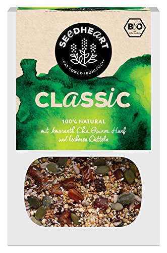 Superfood-Mix aus Saaten, Kernen und Datteln