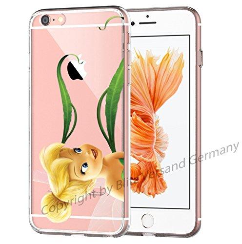 Blitz® Fée Clochette motifs housse de protection transparent TPE iPhone M4 iPhone 6 6s M13