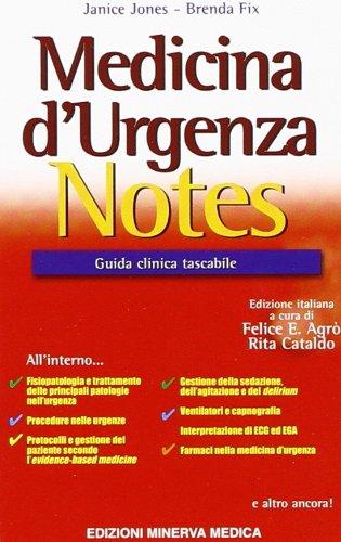 Medicina d'urgenza notes. Guida clinica