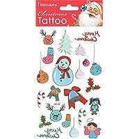 GGSELL buon Natale per Natale Tatuaggi compresi