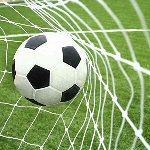 Aoneky Football Goal Net - 24 x 8 Ft - 2 5 mm Cord - Full Size Football Goal Post Netting - NOT Include POSTS  24 x 8 Ft - 2 5 mm Cord