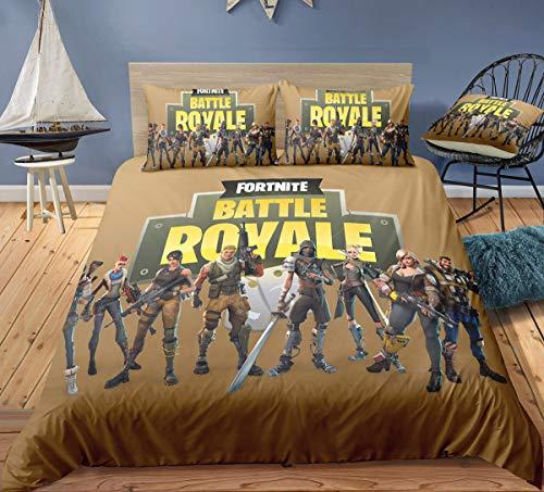 Ropa de cama, edredrón y nórdico del juego Fortnite