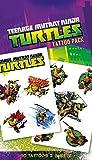"""GB Eye """"Teenage Mutant Ninja Turtles, Shellheads"""" Tattoo Pack, Multi-Colour"""